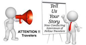 travel blog interviews
