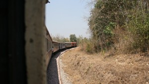 Train in Lampang area