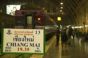 Train to Chiang Mai