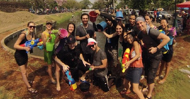 the crew of songkran 2014